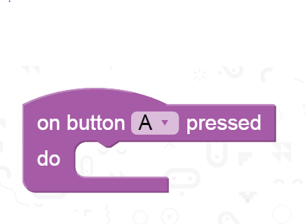 On button A